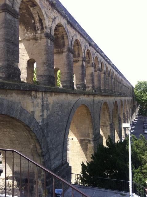 Aqueduct in Montpellier